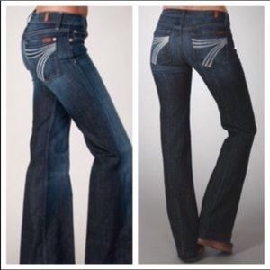 AWESOME 7 FOR ALL MANKIND DOJO Jeans EUC Size 29